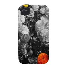 Purchase a new White case for your iPhone! Shop through thousands of designs for the iPhone iPhone 11 Pro, iPhone 11 Pro Max and all the previous models! Iphone 4 Cases, White Iphone, Black And White, Flowers, Design, Black N White, Black White, Royal Icing Flowers