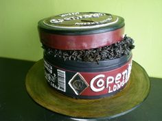 funny grooms cake. Oh my gosh!  I love this since we met in line at the Skoal booth!!!