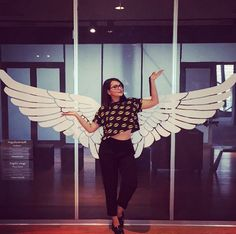 If Sonakshi Sinha was a bird, she would be the prettiest one around! #Sonakshi Sinha