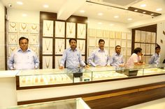 Grand Launch of our new showroom at Chakan, Pune. Date: 9/10/2016 Shop Add: Satyam Jewellers, Opp. Anand Hospital, Mahatma Phule Chowk, Chakan. For exclusive launch offers contact us on : 02135 249301 | www.satyamjewelers.com #Chakan #SatyamJewellers Jewelry Store Displays, Jewellery Shop Design, Jewellery Showroom, Jewelry Shop, Jewelry Stores, Jewelry Designer, Cheap Jewelry, Jewelry Holder, Design Shop