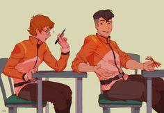 Matt & Shiro as Cadets