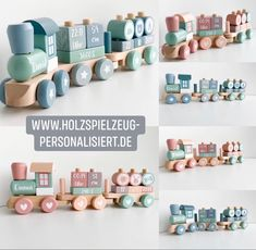 Every child needs a train 😍 Little Dutch train personalized Personalized wooden toys The Little Dutch / Jabadabado wooden toys are lovingly handcrafted by us. Heart Melting, Presents, Place Card Holders, Train, Children, Gifts, Lego Duplo, Dutch, Babyshower