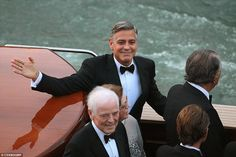 Welcome to Linda Ikeji's Blog: Photos from #George #Clooney and #Amal's #wedding yesterday
