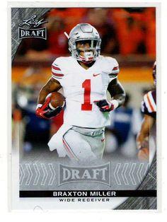 Sports Cards Baseball – 2016 Leaf Draft Rookie Braxton Miller – Free Shipping