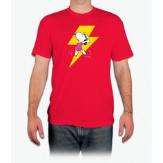 Peanuts Snoopy Dance Lightnin Tee - Men T-Shirt