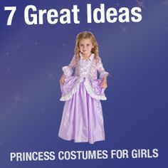 Princess-Costumes-For-Girls- 7 great ideas Storybook Character Costumes, Storybook Characters, Princess Costumes For Girls, Girl Costumes, Fancy Dress, Dress Up, Little Girls, Kids, Outfits