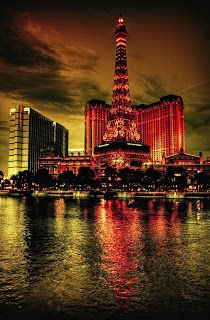 Las Vegas - Paris Las Vegas hotel - loved our stay there in May 2013