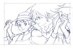 Howl's Moving Castle coloring page