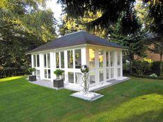 RIWO Gartenstudio Chalet geschlossen im 4-Eck