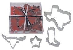 R and M Texas State 4 Piece Cookie Cutter Set * Don't get left behind, see this great product : Baking Accessories