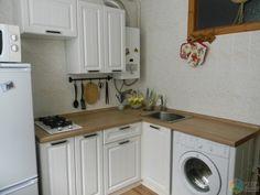 Преображение маленькой кухни