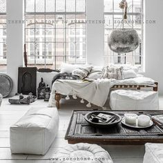 rustic white living room - Photo taken by @zocohome on Instagram, pinned via the InstaPin iOS App! (11/23/2014)