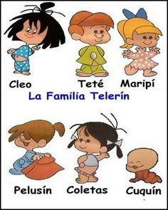 TODORECORTABLES SUEÑOS DE PAPEL: LA FAMILIA TELERÍN RECORTABLES, CAJITAS, TARJETAS PARA FISTAS Y DIBUJOS PARA COLOREAR