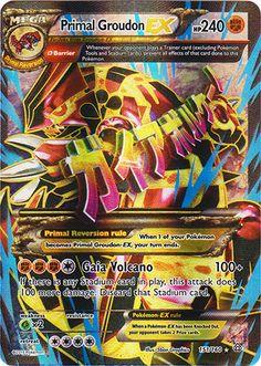 Pokemon - Mega-Rayquaza-EX (61/108) - XY Roaring Skies ...