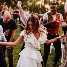 Think outside the box with these creative ways to celebrate. Wedding Planning Tips, Event Planning, Creative Engagement Announcement, Hawaiian Luau, Under The Stars, Gifts For Wedding Party, For Your Party, Cute Poses, Festival Outfits