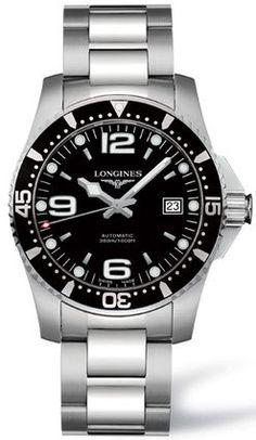Longines Black Dial HydroConquest Automatic Diver Mens Watch - L3.642.4.56.6 Longines http://www.amazon.com/dp/B002FVYTE0/ref=cm_sw_r_pi_dp_FzWIub0NTK65K