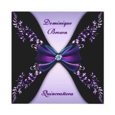 Elegant Gold Quinceanera Invitations Quinceanera invitations