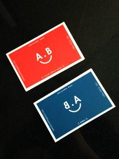 A. B Identity on Behance