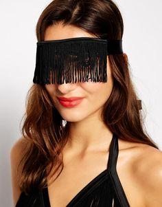 BlueBella Sasha Fringed Eye Mask