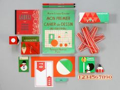 Happy December! Red & green, the palette of the month :-)