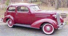 1936 Chevrolet: FD/FA Master DeLuxe,  FC Standard...An unusual color for a pre-war automobile...