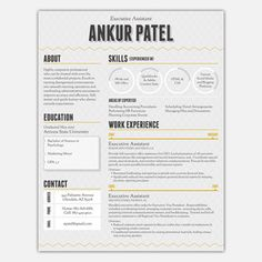 1 Page Resume Service, $83, now featured on Fab.