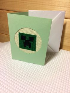 Check out this item in my Etsy shop https://www.etsy.com/uk/listing/490140227/minecraft-creeper-blank-card-with