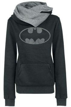 Cheap hoodie sweatshirt, Buy Quality batman hoodie directly from China sweatshirt sweatshirt Suppliers: XUANSHOW Women Autumn Winter Warm Scarf Neck Long Sleeve Pullover Coat Tops Supper Batman Hoodies Sweatshirts Batman Hoodie, Batman Logo, Pastel Outfit, Mode Style, Style Me, Geek Style, Moda Geek, Estilo Geek, Batman Girl