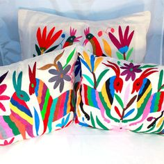 Otomi Pillow Cover 3 Set Multi I, $155, now featured on Fab.