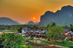 Day tours & overnight lodging on an eco-farm in Luang Prabang, Laos. Luang Prabang, Cool Places To Visit, Places To Travel, Places To Go, Laos Travel, Asia Travel, Vietnam, Backpacking Asia, Day Tours