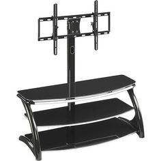 Whalen Furniture  3in1 TV Stand for FlatPanel TVs Up to 56 ** You can find out more details at the link of the image. (This is an affiliate link) #FurnitureTelevisionStands