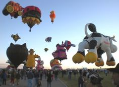 """Ginny Prior reflects on hot-air ballooning while watching what she calls """"the most photographed event on the planet"""": the Albuquerque Balloon Fiesta. (And Ginny has her own fun photos of the creati..."""