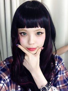 Ayumi Seto / harajuku kawaii / zipper / girls fashion model / tokyo / japan