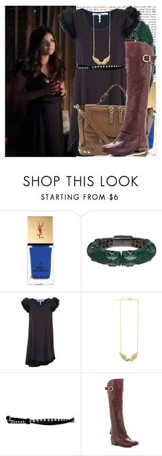 """""""a. montgomery - who's in the box?"""" by cla-90 ❤ liked on Polyvore featuring Yves Saint Laurent, Matthew Campbell Laurenza, Skaist Taylor, Alice + Olivia, Be & D and Chinese Laundry"""