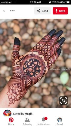 Round Mehndi Design, Rose Mehndi Designs, Henna Tattoo Designs Arm, Latest Bridal Mehndi Designs, Henna Art Designs, Stylish Mehndi Designs, Mehndi Designs For Beginners, Mehndi Designs For Girls, Mehndi Design Photos
