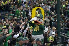 Ducky rocking an Oregon cap!!