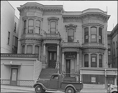 San Francisco, California. Dwelling is being vacated in the Japanese section near Post Street . . ., 04/07/1942 | Flickr - Photo Sharing!