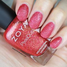 Zoya Linds from the Seashells Collection is like a firecracker for your nails! (See swatches of the entire collection on SwatchAndLearn.com.)