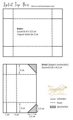 Split Top Box, Wunderbar verwickelt, scraphexe.de