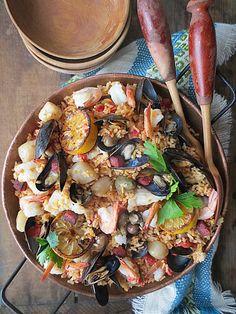 The Brooklyn Ragazza: Mediterranean Basmati Rice Paella