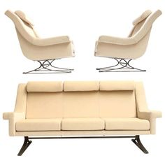 For Sale on - Fabulous, super rare, and monumental sculptural form 'Grand Prix' lounge set by prestigious French sculptor Maurice Calka for Arflex, Italy, New York In December, Modern Furniture, Furniture Design, Mohair Fabric, French Sculptor, Sofa Frame, Sofa Chair, Grand Prix, Lounge Chairs