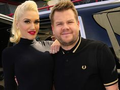 Gwen Stefani Rocks Out to Carpool Karaoke With James Corden It's Carpool Karaoke time again! After James Corden teamed up with Jennifer Lopez for his Carpool Karaoke segment last month, it's time for the equally stunning Gwen Stefani to take a ride with the late night host  The pair gave an energetic rendition of 1996 hit Don't Speak by No Doubt, a band she co-founded and has been the lead vocalist of since 1986, followed by some of Gwen's biggest hits such as The Sweet Escape,Used To Love…