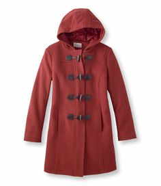 Classic Lambswool Duffel Coat: Casual Jackets | Free Shipping at L.L.Bean