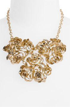 Kendra Scott 'Addy' Rose Bib Necklace   Nordstrom - StyleSays