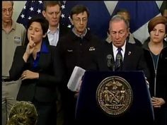 Mayor Bloomberg Updates New Yorkers on City's Response to Hurricane Sandy