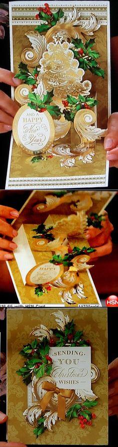 Anna Griffin Christmas Pop Up Card Kit