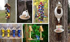 15 DIY Bird feeders That Will Fill Your Garden With Birds - The ART in LIFE