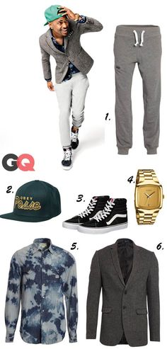 Big Sean for GQ Magazine - Street chic hipster outfit I would totally wear this outfit...ijs