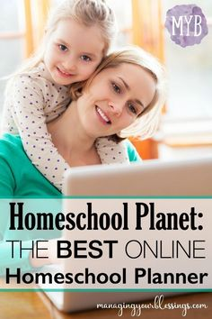Are you a homeschool mom who has been searching for the perfect online homeschool planner? Look no further - Homeschool Planet is here! :: managingyourblessings.com