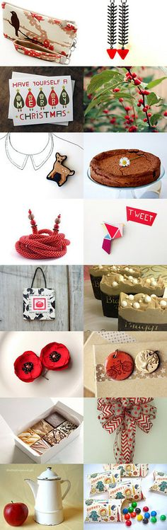 Christmas Red by Gina on Etsy--Pinned with TreasuryPin.com